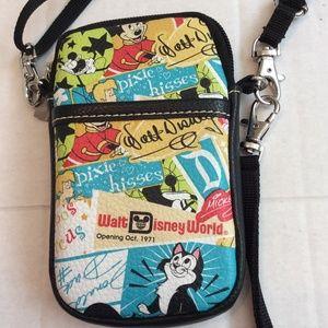Walt Disney World Cell Phone CrossBody Bag Wallet